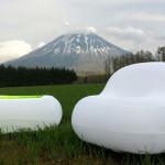Mobiliario hinchable - Zeppelin Santiago