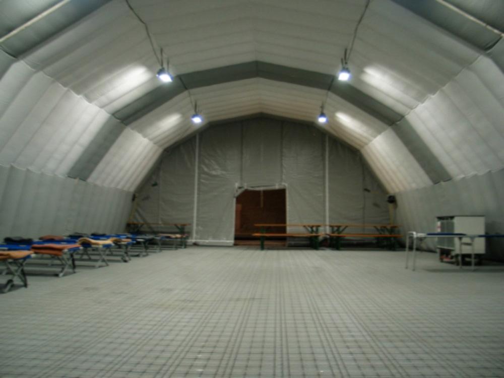 Carpas hinchables - Zeppelin Santiago & Inflatable Tent | Zeppelin Santiago
