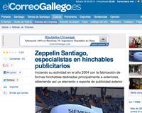 Correo Gallego - Zeppelin Santiago