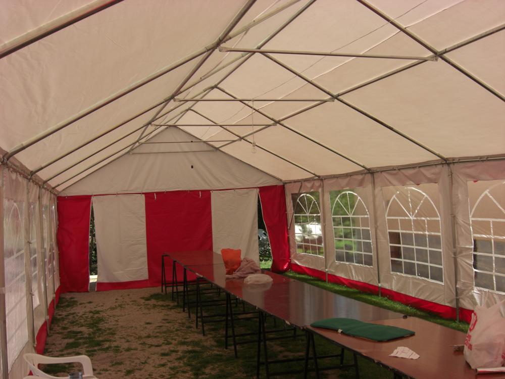 Canvas Tents Zeppelin Santiago