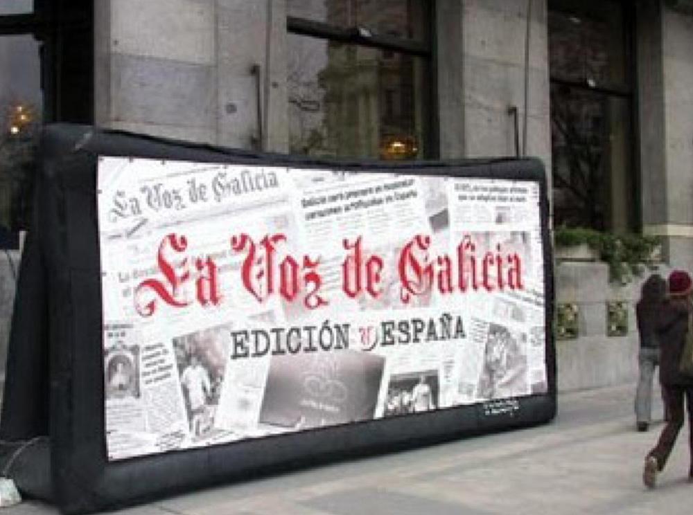 Valla publicitaria - Zeppelin Santiago
